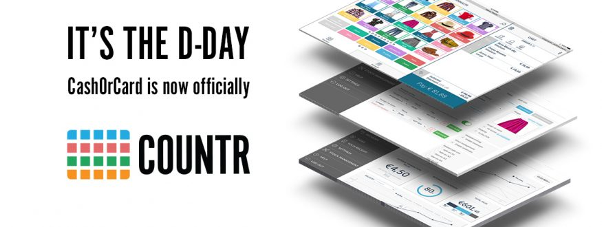 CashOrCard Point of Sale changed its name to Countr point of sale