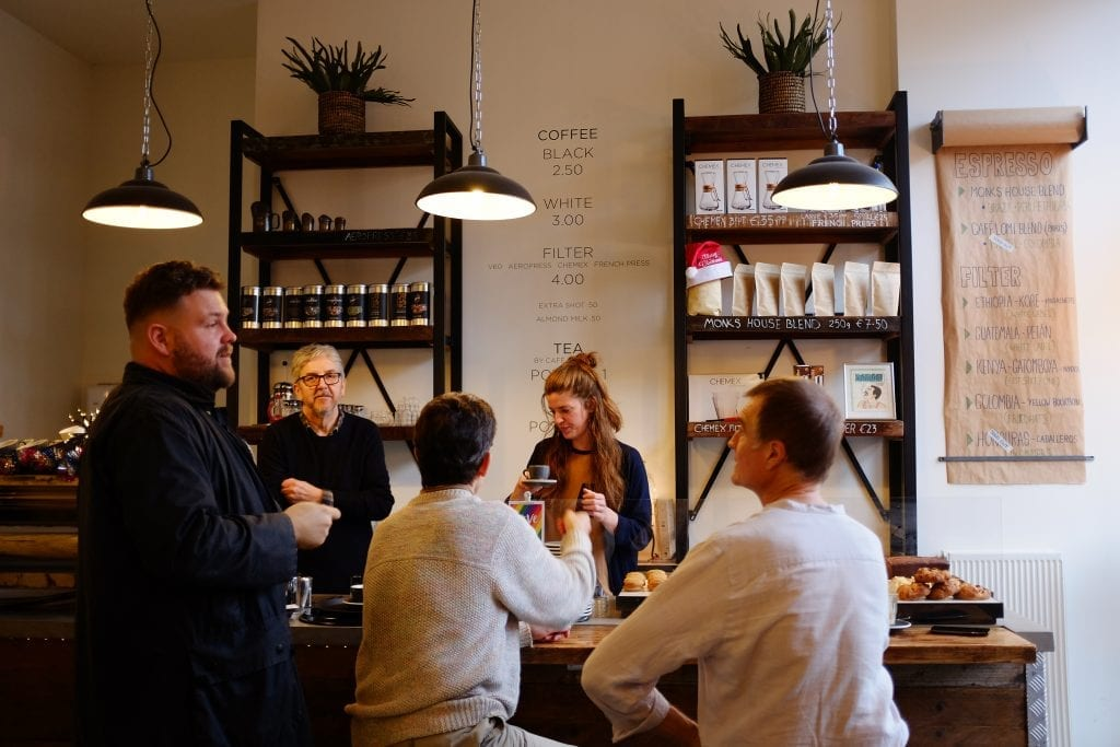 Monks Coffee Roasters Amsterdam Countr Point of Sale