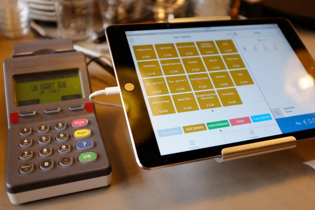 Countr point of sale interface