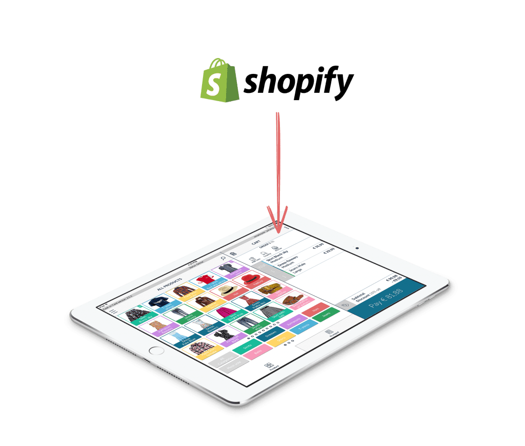 connect shopify webshop to your countr point of sale
